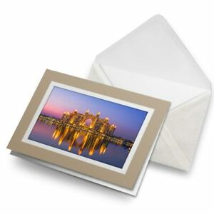 Greetings-Card-Biege-Atlantis-Resort-Dubai-UAE-Sunset-21165