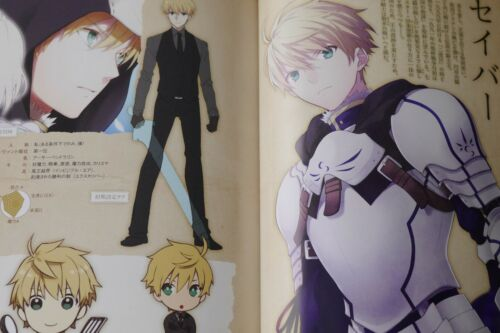 Fragments of Blue and Silver 1~5 Set JAPAN novel Fate//Prototype
