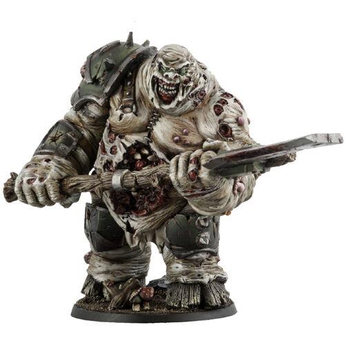 Kromlech KRM015 Rotten Butcher (1) 28mm Miniature Plague Demon Chaos Lord