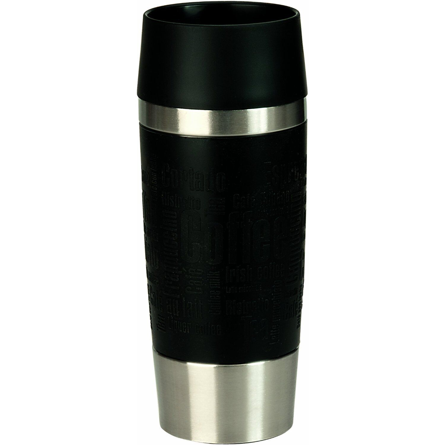Emsa TRAVEL MUG Isolierbecher, Thermosbecher, Transportbecher Edelstahl