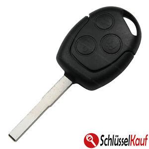 3 tasten autoschl ssel geh use rohling passend f r ford. Black Bedroom Furniture Sets. Home Design Ideas