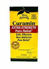 EuroPharma (Terry Naturally) Curamin Extra Strength - 120 Tablets STOP PAIN NOW