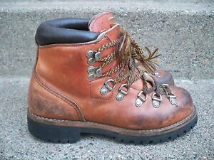 0241567dd8b Vintage Red Wing Irish Setter Mountaineering Hiking Leather Stomper ...