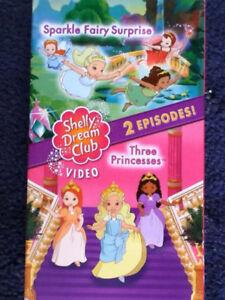 Shelly-Dream-Club-Sparkle-Fairy-Surprise-The-Princesses-VHS