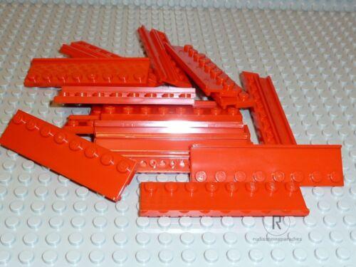 LEGO® 18 x Führungsschiene 2x8 rot 30586 Führung aus 10197 NEUWARE R929