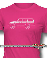 Toyota Bj55 Fj55 Land Cruiser Women T-shirt - Multiple Colors And Sizes