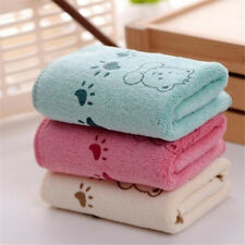 5Pcs Cute Bear Baby Infant Bath Towel 25*50cm Kids Washcloth Towel LE