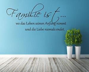 Wandtattoo-Wohnzimmer-Familie-ist-Schlafzimmer-Wandspruch-220987-Spruch