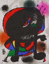 Joan Miro Litografia Original III Poster Kunstdruck Bild 33,5x25,2cm - Portofrei