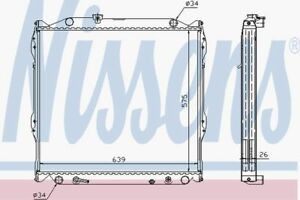 Nissens-Radiator-647551-Fit-with-Toyota-Land-Cruiser-90