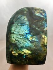 Labradorite free form Polished Gemstone Crystal Mineral Display Specimen 3k