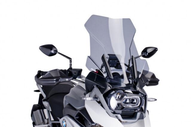 PUIG TOURING SCREEN BMW R1200 GS/ADVENTURE-EXCLUSIVE-RALLYE 14-18 LIGHT SMOKE