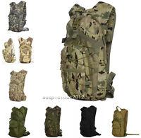 28l Military Backpack Hydration Packs Tactical Assault Hiking Sport Shoulder Bag