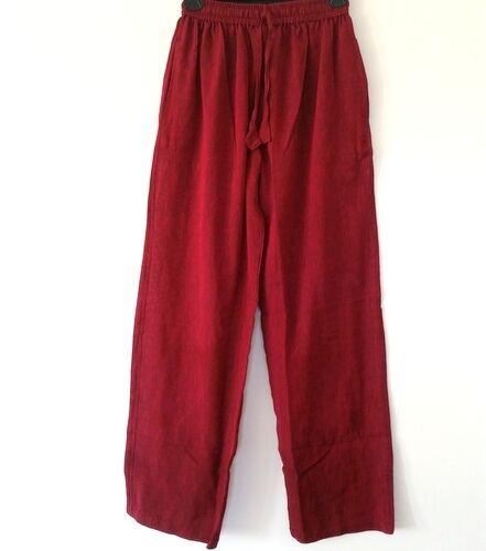 UC-80 Nepalese Funky Festival Hippy Boho Unisex Plain Light Cotton Pant  Trouser
