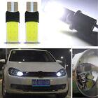 New 2pcs T10 W5W 194 168 6W LED Error Free COB Canbus Side Lamp Wedge Light Bulb