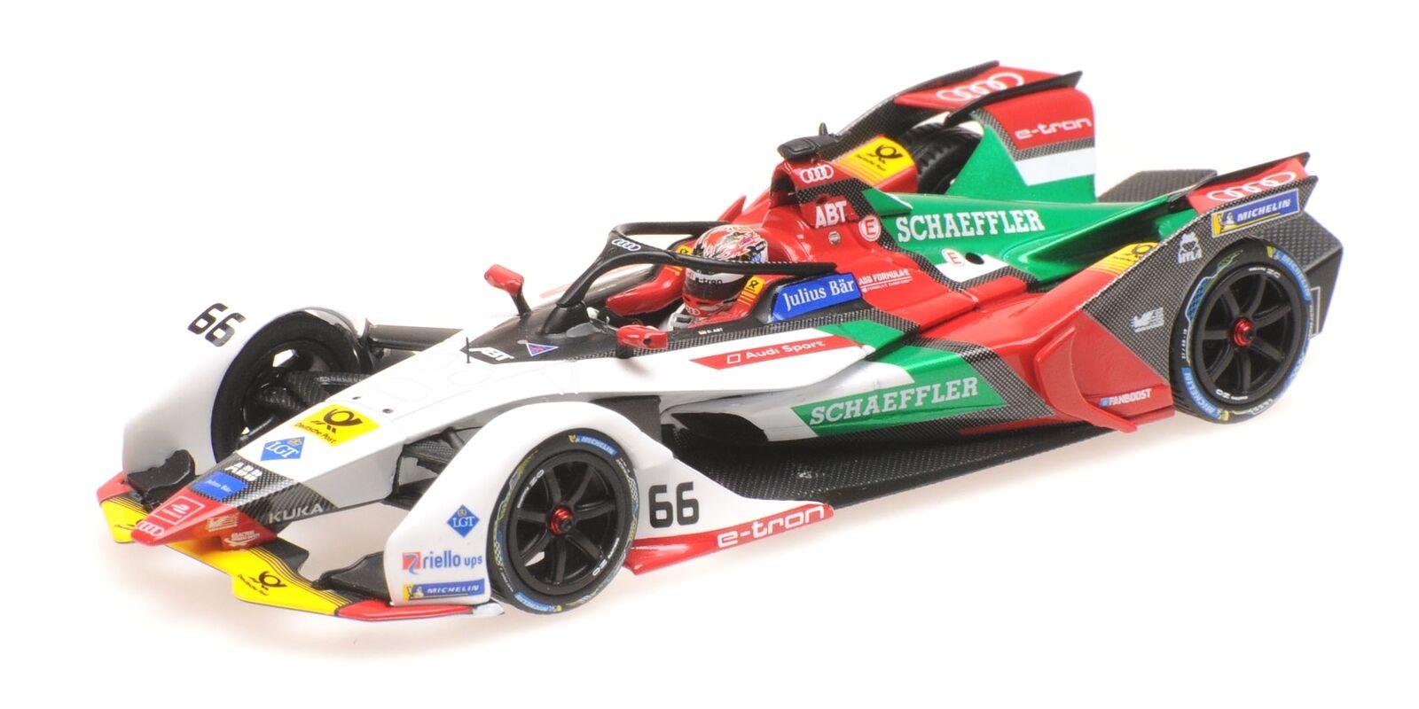Fórmula y Season 5 Audi Sport Abt Schaeffler Daniel Abt Minichamps 414180066