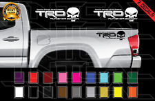 Trd Punisher Edition Decals Toyota Tacoma Tundra Truck Vinyl Stickers X2
