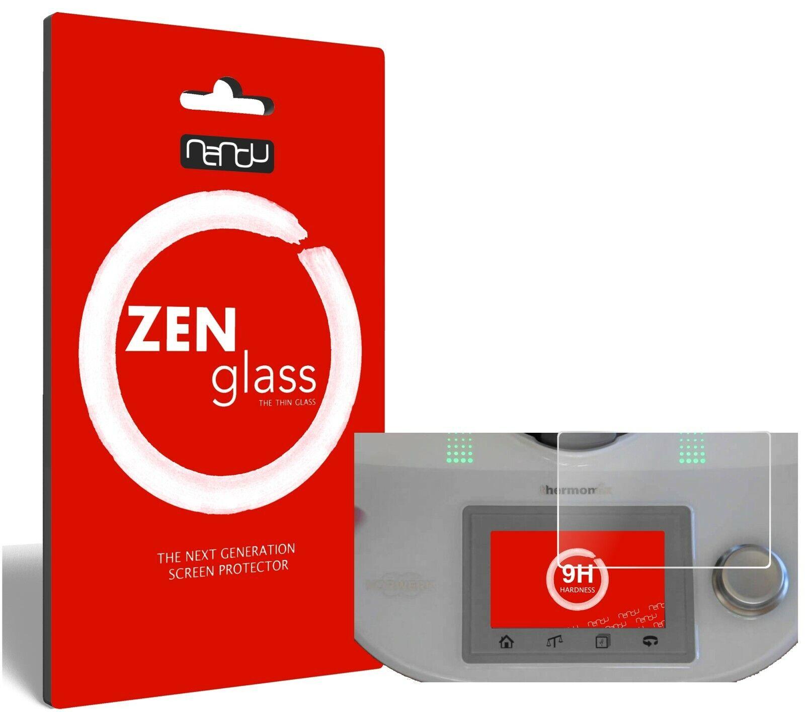 2x ZenGlass Flexible Glass Film Vorwerk Thermomix TM5 (Modell 2014) I Protector