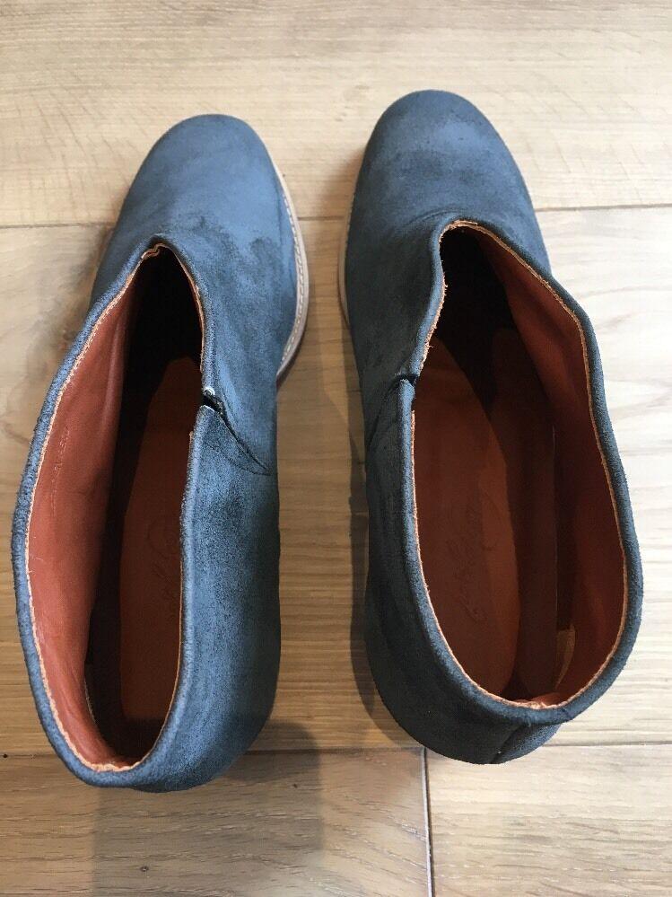 Rachel Comey Stivaletti BLUE BLUE BLUE SUEDE SHOES US 8.5 8 1/5 New NUOVO senza scatola 5fcdd2