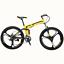 26-034-Folding-Mountain-Bike-Shimano-21-Speed-Bicycle-Full-Suspension-MTB-Bikes thumbnail 4