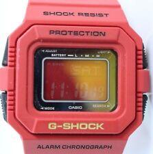 Casio G Shock G-5500C-4CR Men's Watch RED NIB Rarely Seen on Ebay Module 3062