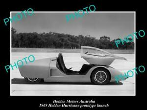 OLD-POSTCARD-SIZE-PHOTO-OF-GMH-HOLDEN-HURRICANE-PROTOTYPE-LAUNCH-c1969-4
