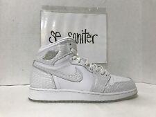 Nike Air Jordan 1 Retro HI Prem HC GG White-Pure Platinum 832596-100 Size  8.5y 886668563619  319d88d57