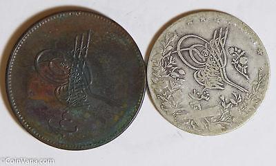 Coins: World Egypt 1327 /1277 Ah 10 Piastres 40 Para Bu0496 Combine Shipping Hot Sale 50-70% OFF