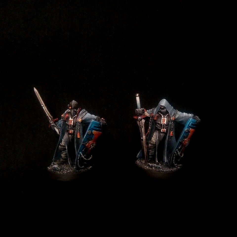 PRO-PAINTED Inquisition Crusaders Duo Kill squadra COMMISSION 2 modellolos