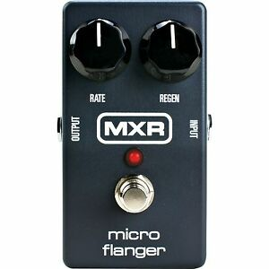 mxr m152 micro flanger electric guitar effect pedal brand new 710137045965 ebay. Black Bedroom Furniture Sets. Home Design Ideas