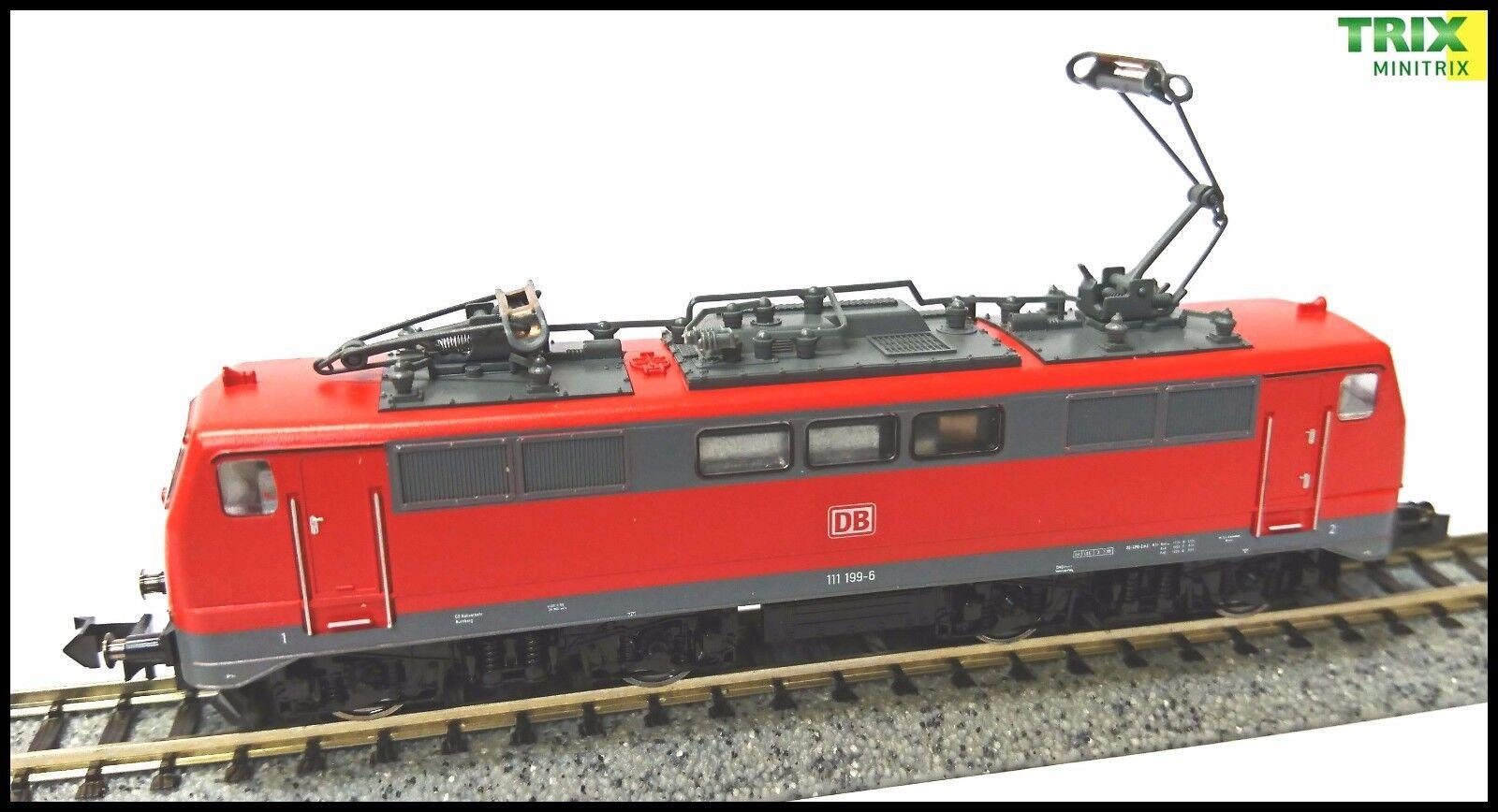 Minitrix - 12759 - DBAG - BR111 Bo-Bo Electric Loco  Epoche V