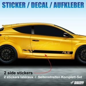 Details About 937 Kit Autocollant Sport Renault Megane Rs Sticker Decal Aufkleber Adesivo
