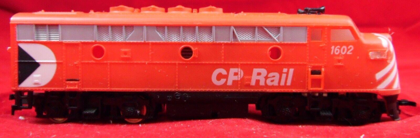 Escala HO locomotora de tren Cp Rail 1602 Motor Coche Vintage probado y se ejecuta