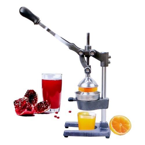 Granatapfel Hand SAFTPRESSE für Orangen Zitrusfrüchte Edelstahl