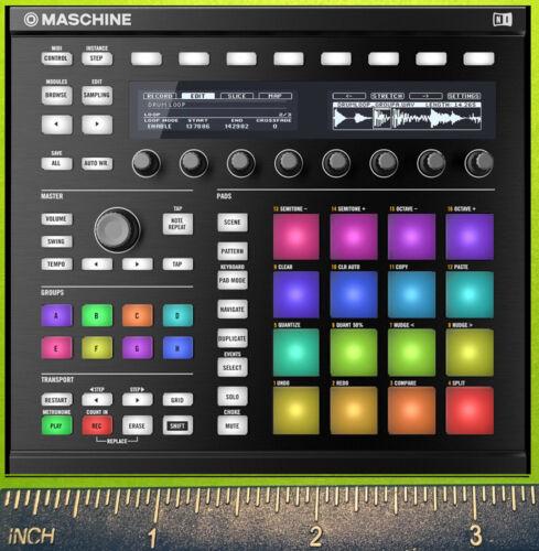 Maschine Studio Native Instruments KOMPLETE KONTROL 61 88 synthétiseur Aimant
