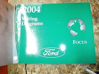 2004 ford focus original factory wiring diagrams manual