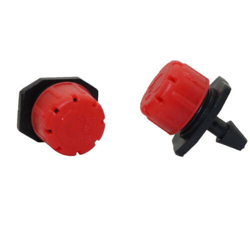 500Pcs 8 Hole Nozzle Dripper Garden Lawn Greenhouse Irrigation System Sprinkler