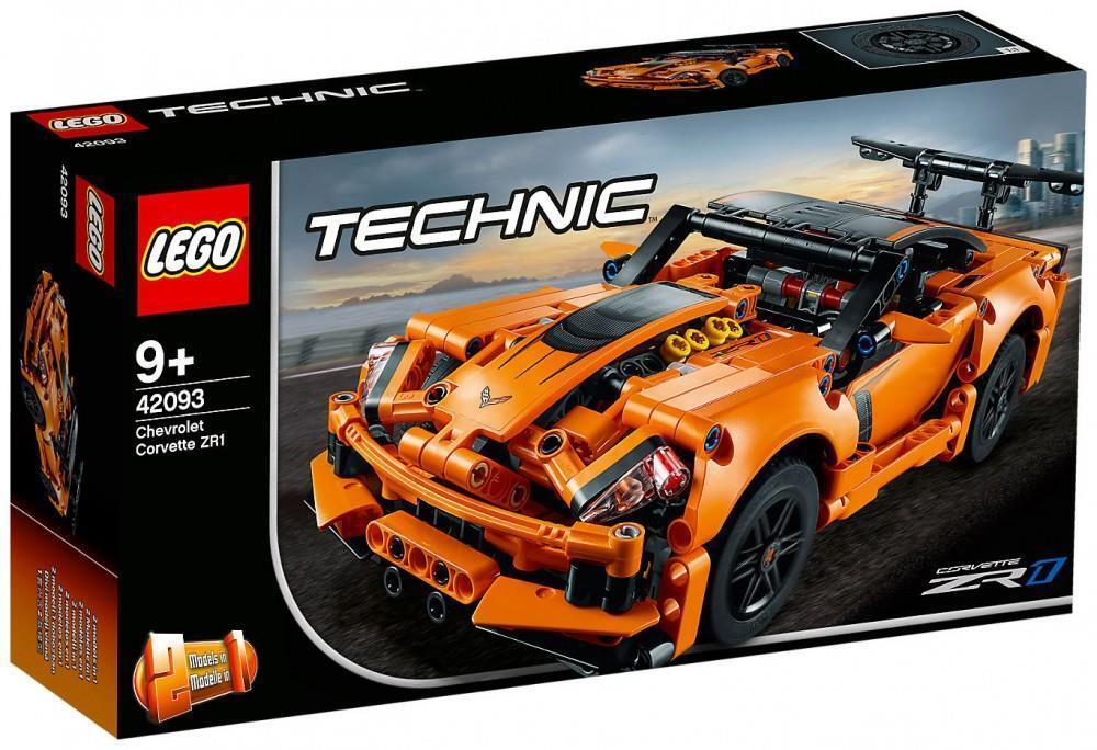CHEVROLET CORVETTE ZR1 - 2 in 1  HOT ROD - LEGO TECHNIC 42093 NEW SEALED 579 pcs