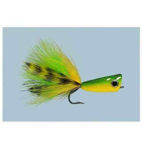 #3//0 Green//Yellow NEW FREE SHIPPING Rainy/'s CB In-Shore Popper