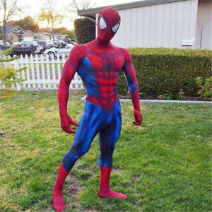 Spider Man 2 Cosplay Suit 3d Print Bodysuit The Amazing Spider Man