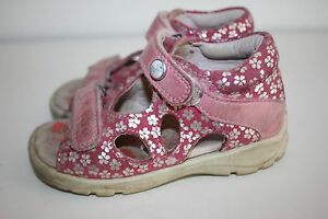 meet 6cf96 9e7ff Details zu Kinder Sandalen Baby Kinderschuhe Kindersandalen sommer Schuhe  ECCO Gr. 24 LEDER