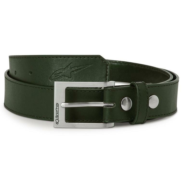 Alpinestars Gürtel Ageless Leather Belt Gr. XL - Mititary Green