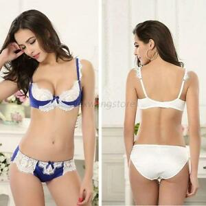 Sexy Bra Sets Women Lace Lingerie Outfits Ladies Underwear Push-Up ...