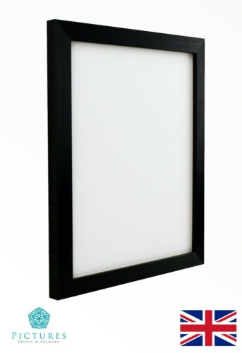 "Black Photo Picture Frame 19mm 13x13-20/"" 14x14-20/"" 15,16,17,18,19,-20x20/"" Mount"
