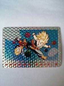 SUPER-RARE-CARTE-DBZ-1989-SANGOTEN-TRUNKS-N-19-Dragon-Ball-Z-serie-2-card-game