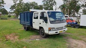 Isuzu-1996-dual-cab-tipper-truck
