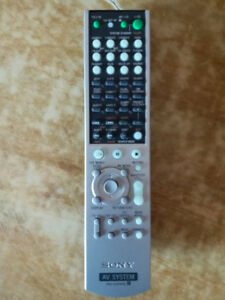 SONY RM-AAP002 Remote Control