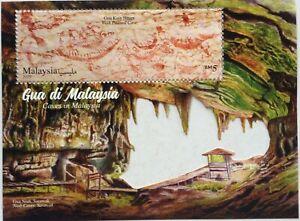 Malaysia-Miniature-Sheet-22-08-2019-Caves-in-Malaysia