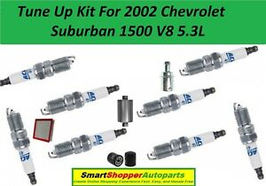 Image Is Loading Tune Up Kit 2002 Chevrolet Suburban 1500 Spark