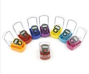 Box 5 digits LED muslim tally counter finger ring hand tally counter tasbih